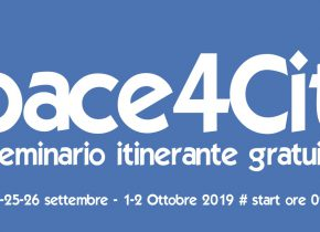 Space4City Tour: free workshops in 5 Italian cities, from 24th Sept. to 2nd Oct.