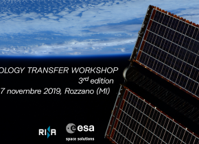 ESA Technology Transfer Workshop 3rd edition – 7 November 2019 Rozzano (MI)